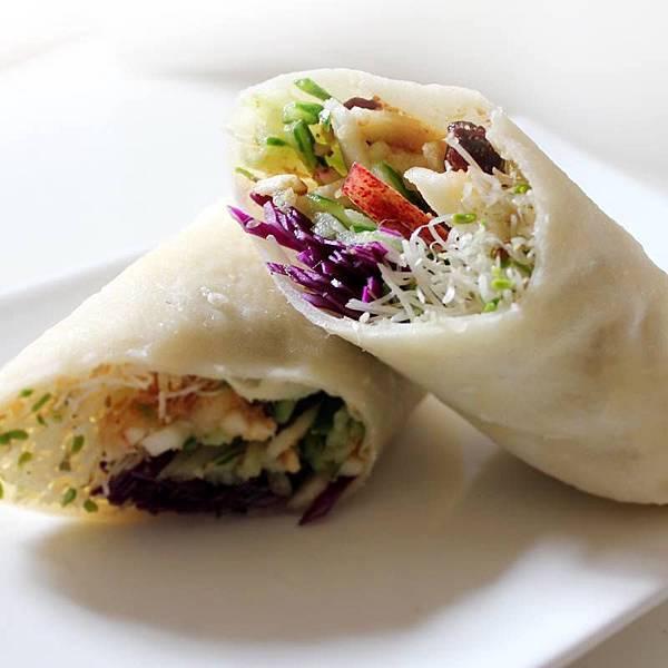 【厚生廚房】這樣吃,健康不怕胖!!  鮮蔬果香潤餅捲 零負擔的美味蔬食 美味DIY!