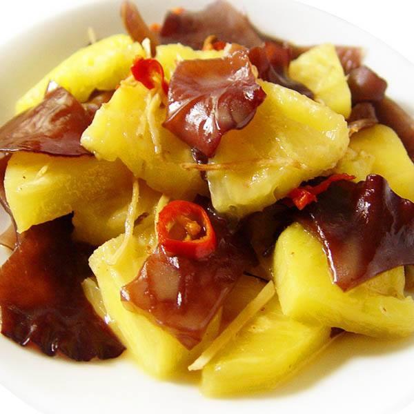 【厚生廚房】三分鐘快炒好料理,酸甜開胃又下飯--鳳梨炒木耳