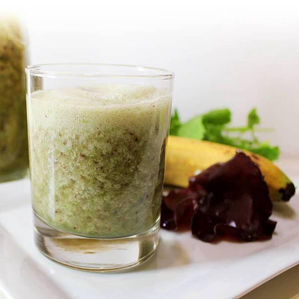 【厚生廚房】超級養生助排毒~ 木耳香蕉芹菜汁