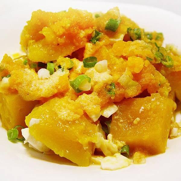 【厚生廚房】美味一級棒~鹹鴨蛋炒南瓜