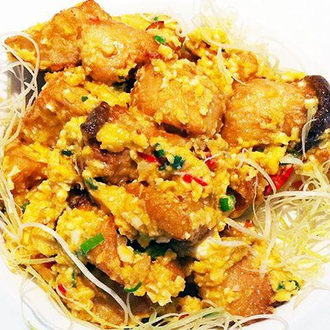 【厚生廚房】金黃色的誘惑~~鹹蛋杏鮑菇