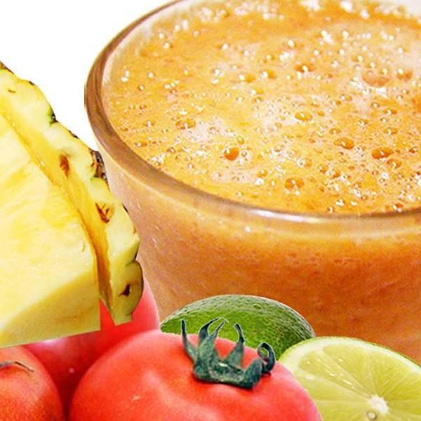 【厚生廚房】☀有夠熱~~來杯最天然的果汁吧~~鳳梨番茄汁