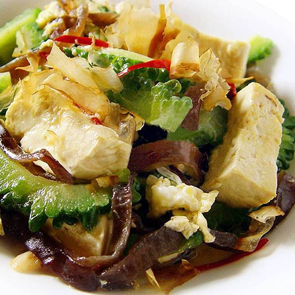 【厚生廚房】夏日的食尚對味fu~~日式和風炒苦瓜