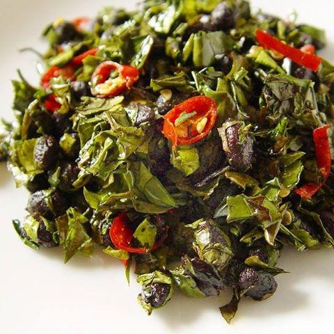 【厚生廚房】㊙私房開胃菜--香椿炒豆豉