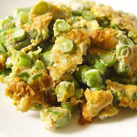 【厚生廚房】快炒三分鐘的好料理~~菜豆炒蛋