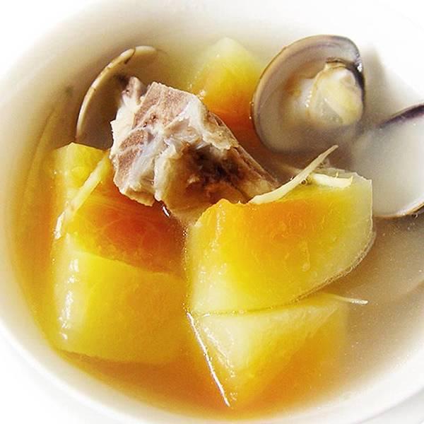 【厚生廚房】喝好湯變美美滴~~青木瓜蛤蜊排骨湯