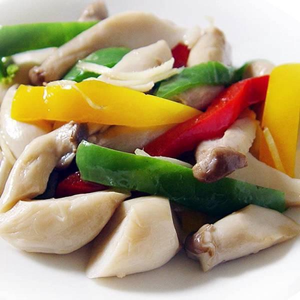 【厚生廚房】雙重的低卡美味~雙椒炒杏鮑菇