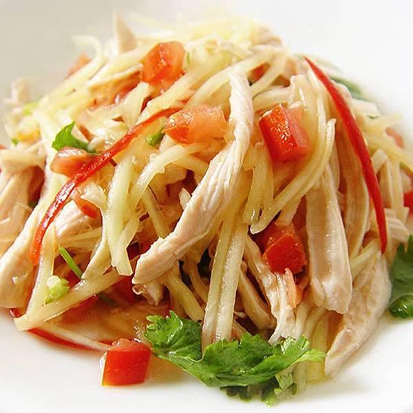 【厚生廚房】享用泰式料理超簡單!!雞絲拌青木瓜