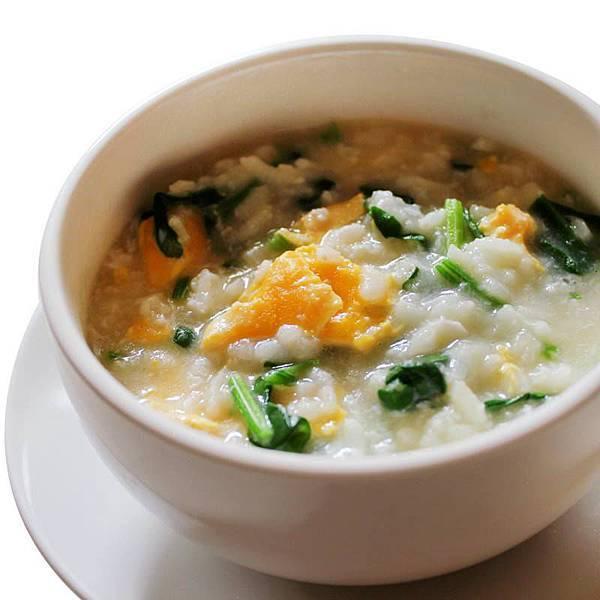 【厚生廚房】颱風天 來碗 「菠菜雞蛋粥」好粥到!