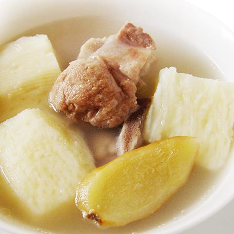 【厚生廚房】夏日喝養生好湯,很棒的喔!!山藥排骨湯