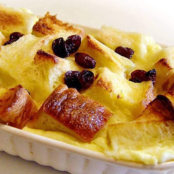 【厚生廚房】甜甜過周末!!來個布丁麵包喔!!超簡單!