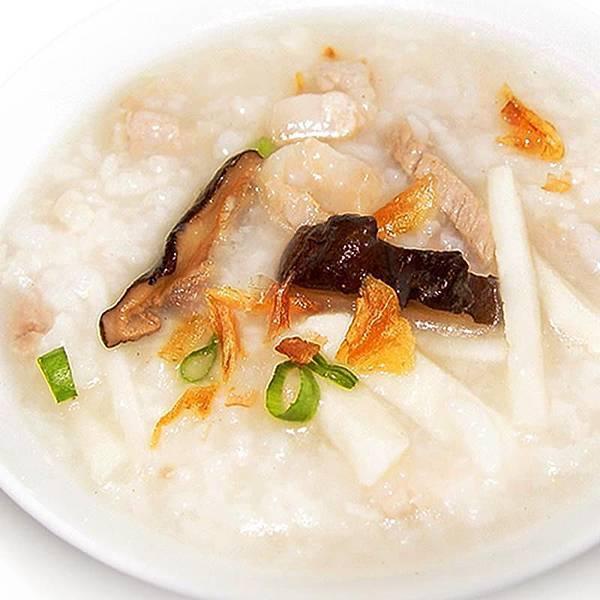 【厚生廚房】宵夜別煩惱 心中暖暖D~香味四溢的筍香肉絲鹹粥