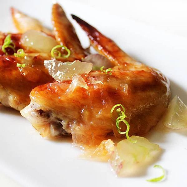 柚醬烤雞翅