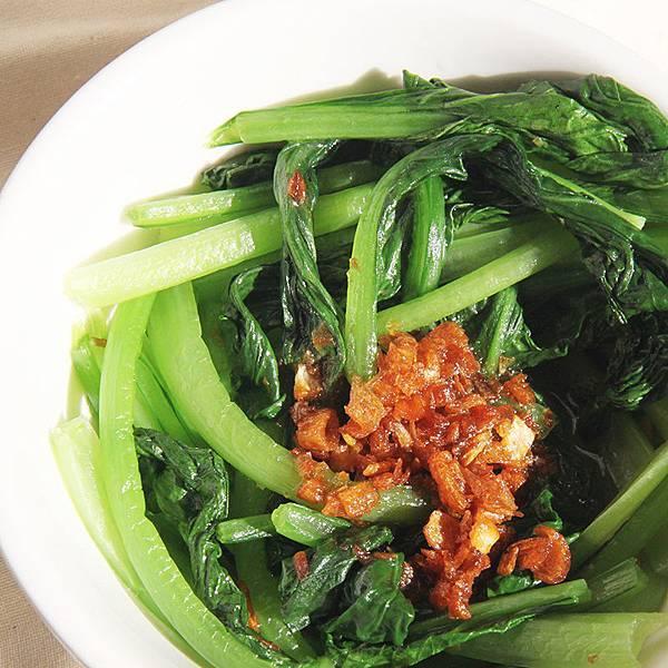 油蔥酥拌青菜