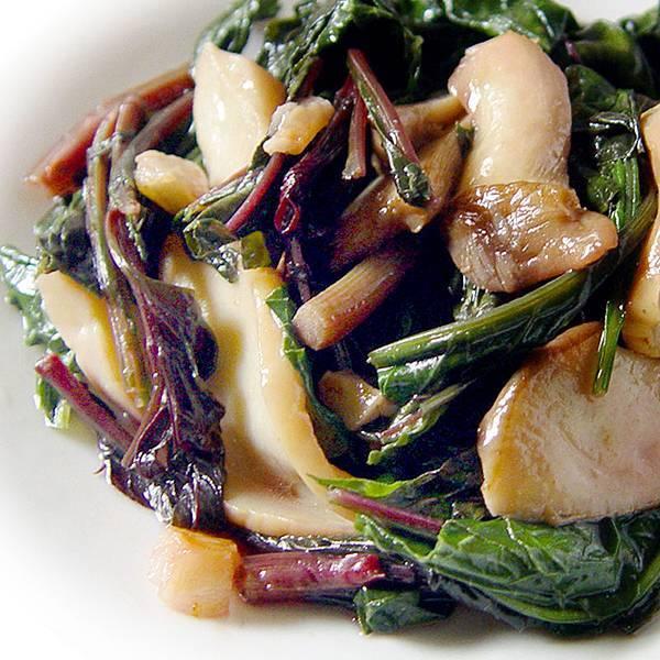 recipe_0369蒜炒青葙杏鮑菇