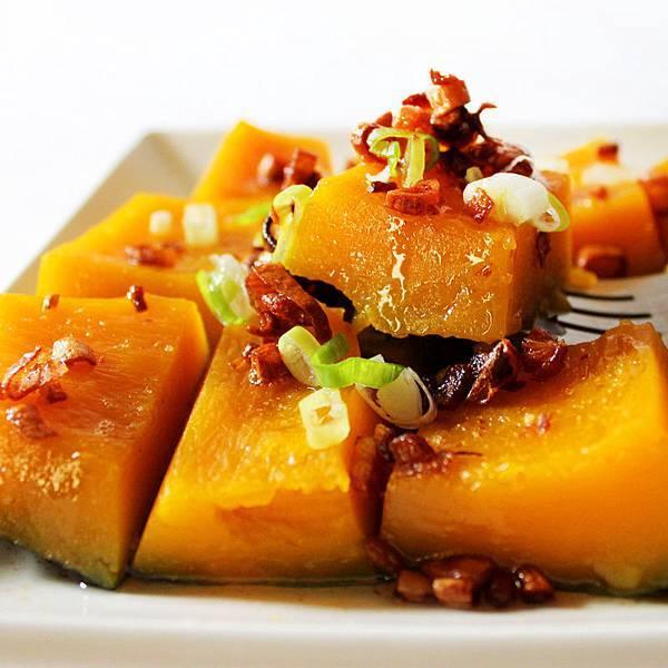 香酥油蔥拌南瓜