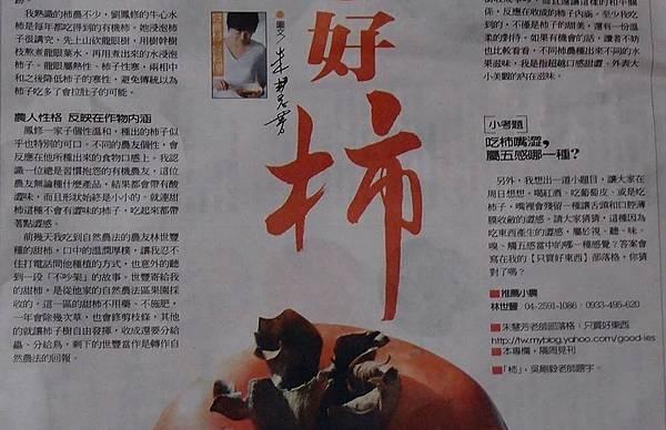 朱慧芳老師聯合報專欄介紹