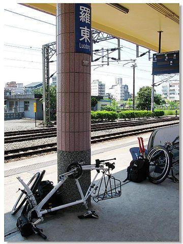 羅東火車站 月台