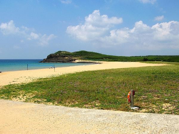 這沙灘很美