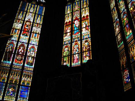 玫瑰花窗(St. Vitus' Cathedral )
