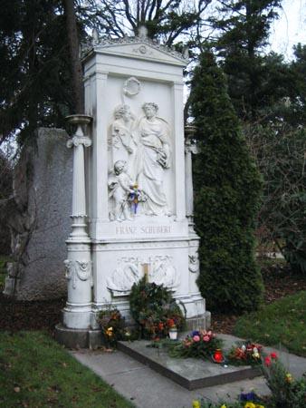 音樂家的墓:舒伯特