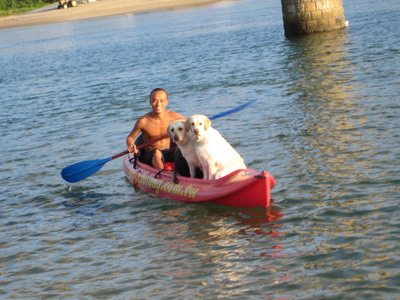 划船出海去