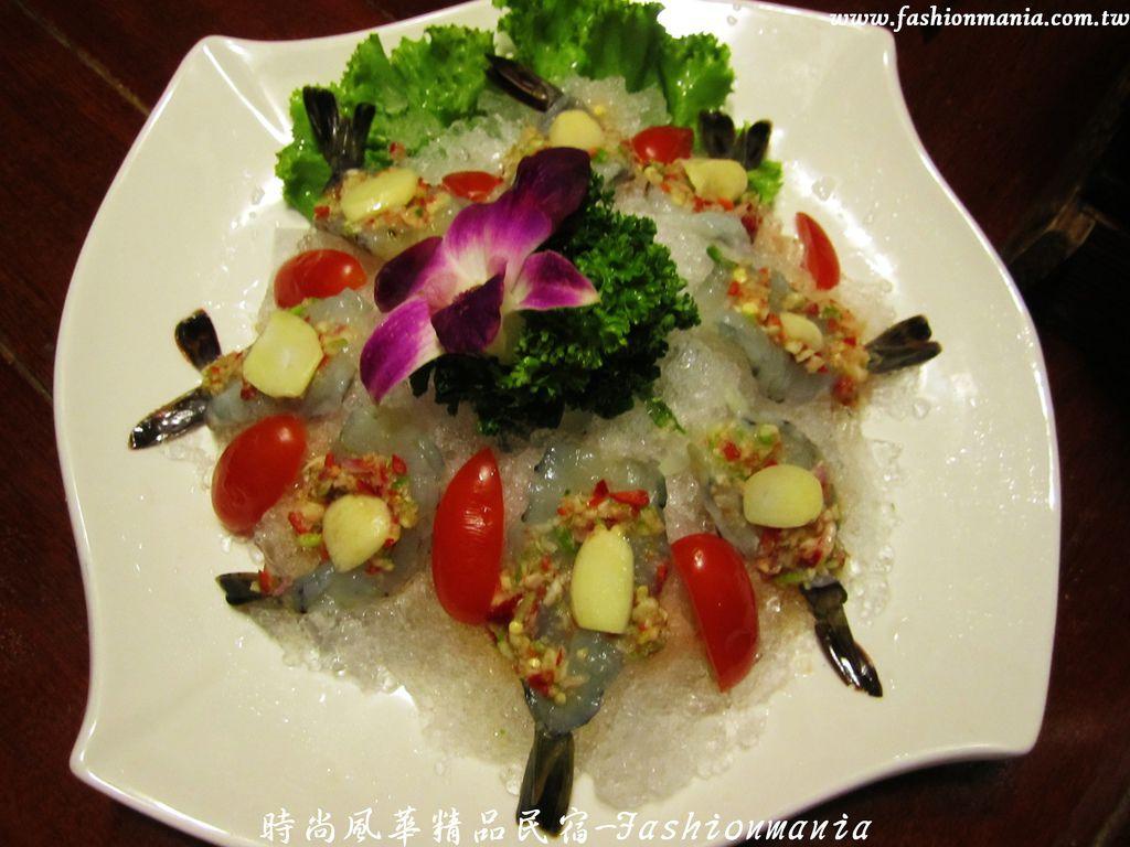 時尚風華精品民宿-椰林泰式料理食記