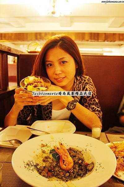 時尚風華精品民宿-神之母餐廳食記