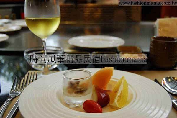 時尚風華精品民宿-饗宴鐵板燒美食紀錄 (23)