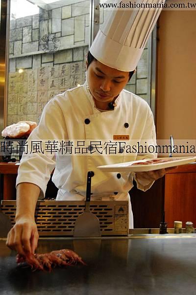 時尚風華精品民宿-饗宴鐵板燒美食紀錄 (24)