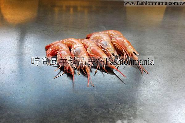 時尚風華精品民宿-饗宴鐵板燒美食紀錄 (25)