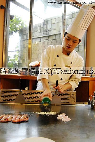 時尚風華精品民宿-饗宴鐵板燒美食紀錄 (32)