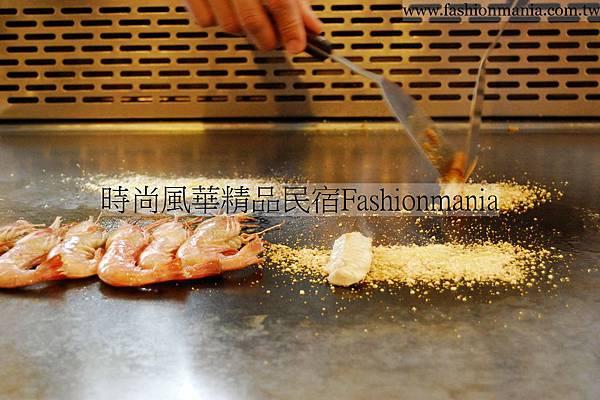 時尚風華精品民宿-饗宴鐵板燒美食紀錄 (33)