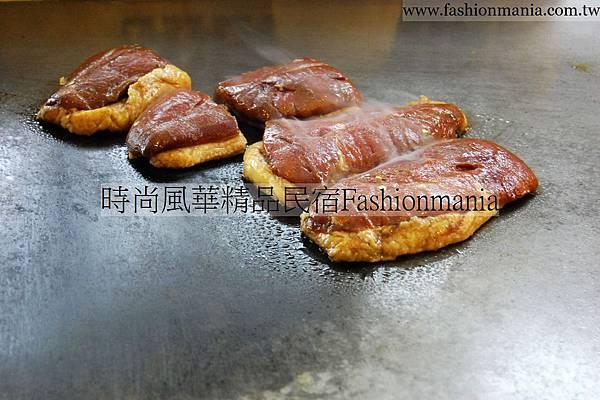 時尚風華精品民宿-饗宴鐵板燒美食紀錄 (40)