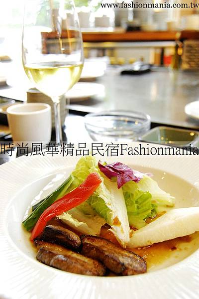 時尚風華精品民宿-饗宴鐵板燒美食紀錄 (41)