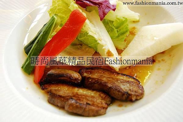 時尚風華精品民宿-饗宴鐵板燒美食紀錄 (42)