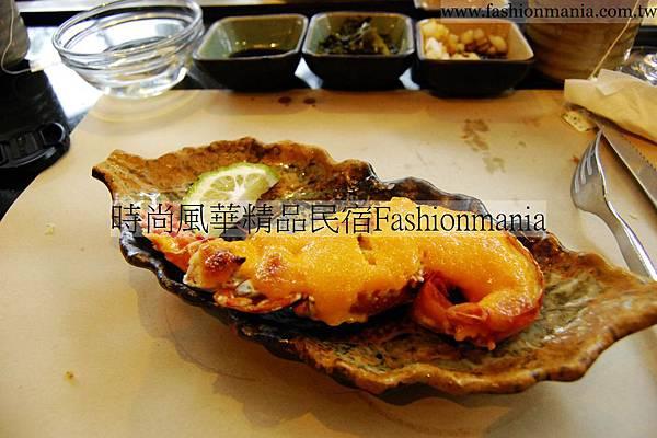 時尚風華精品民宿-饗宴鐵板燒美食紀錄 (45)