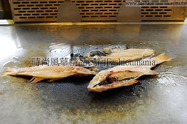 時尚風華精品民宿-饗宴鐵板燒美食紀錄 (46)