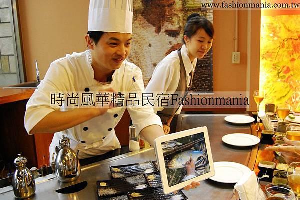 時尚風華精品民宿-饗宴鐵板燒美食紀錄 (50)