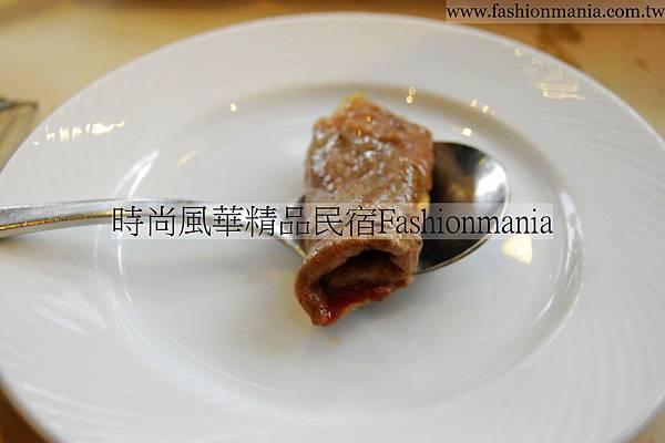 時尚風華精品民宿-饗宴鐵板燒美食紀錄 (54)