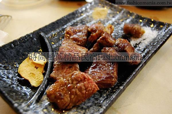 時尚風華精品民宿-饗宴鐵板燒美食紀錄 (58)