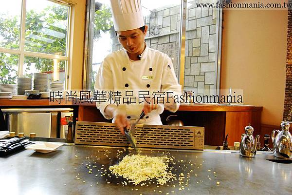 時尚風華精品民宿-饗宴鐵板燒美食紀錄 (62)