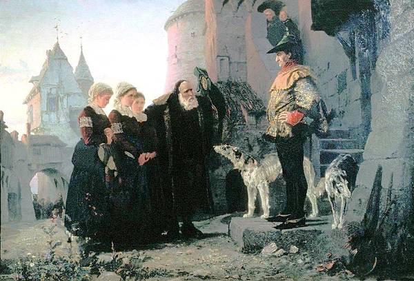 瓦西里·波列諾夫:《Le droit du Seigneur》
