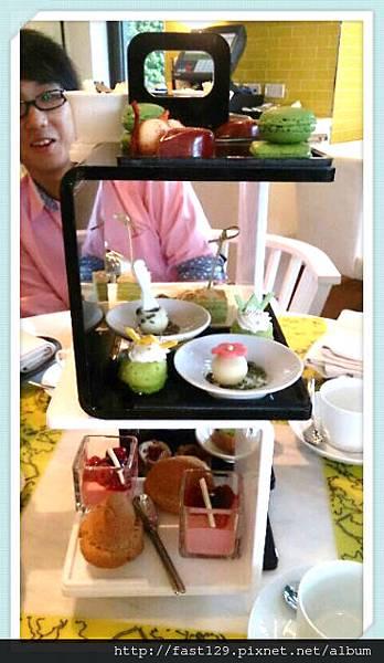 W Hotel 貴婦下午茶-下午茶雙人擺盤