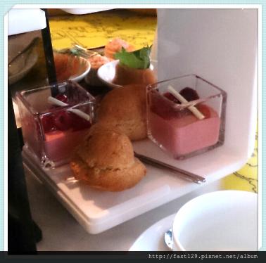 W Hotel 貴婦下午茶-甜點第三層