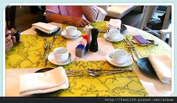 W Hotel 貴婦下午茶-餐桌