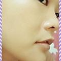 銀皇冠-亮澤緊緻精華_使用後