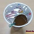 天使娜拉膠原蛋白粉融於紅茶