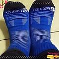 8字蹦帶運動襪-腳踝