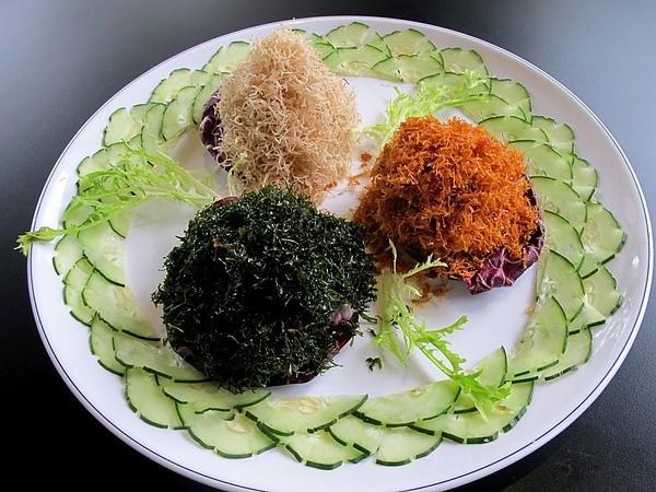 5000合菜【野菜三色鮮】